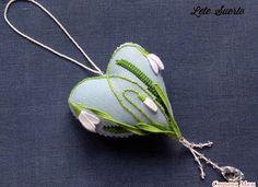 """Милые сердцу штучки: """"Сердечко с подснежниками от Lete Suerte"""""""