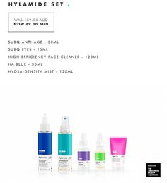 If anyone is interesting in trying out the Hylamide brand RUN don't walk to www.bf.deciem.com as they have some amazing Black Friday deals.  I have been using the SubQ serum (purple) for 2 months and I credit it for my very happy skin.  The oil cleanser and HA Blur are also great.  The SubQ alone us normally $60 so this set is a bargain  free shipping.  I might have also treated myself to a super fancy NIOD set.  Honestly  this brand are brilliant pop in a super cheap dose of retinol from…