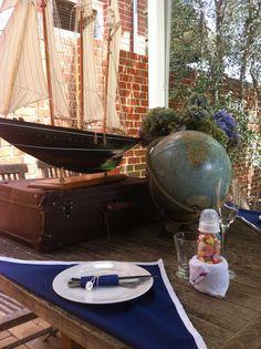 Emma's nautical baby shower