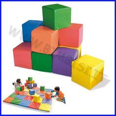 Cubi morbidi per bambini in set da 12