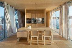 Living Design - Uma casa flutuante, modular e eficiente é o novo projeto do estúdio Friday