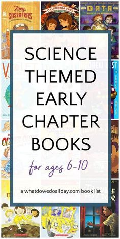 Science-Themed Early Chapter Books for Kids ~ What a great reading roundup! theme Science Themed Chapter Books for Kids Science Books, Teaching Science, Science For Kids, Science Crafts, Science Activities, Science Experiments, Teaching Ideas, Summer Science, Science Videos