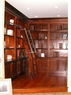 Home Offices & Libraries | Unique Design Cabinet Co