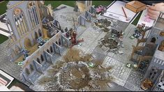 We put our Urban terrain tiles in action, for a short & sweet Kill Team clash at the Club. Space Wolves faced Astra Militarum, and the game looked (and playe. Wolf Face, Space Wolves, Battle, Urban, Awesome