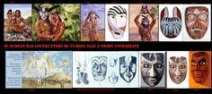 I siti archeologici, dell'estremo sud della Florida, ci hanno rilevato che il popolo Calusa usava nelle cerimonie maschere rituali. Per ora, tranne per i Cherokee, non ho trovato altre testimonianze di tale uso tra gli altri popoli nel sudest.