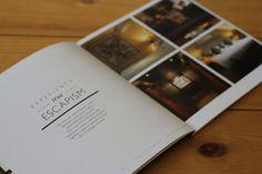 Barnham Broom Hotel Brochure by Keira Alwood, via Behance