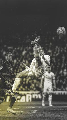 Gareth Bale. Lock screen.