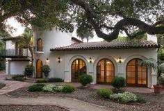 Old california and spanish revival style план дома hacienda homes, spanish styl