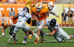 Tennessee destroys Northwestern 45-6 in Outback Bowl  1/1/2016