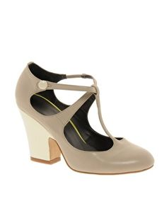 ASOS – PEBBLE – Mary-Janes