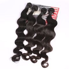 Amazon.com : SpringHair 4 Bundles Weave Remy 5A Peruvian Unprocessed Virgin Human Hair Weaves Extensions Body Wave Natural Black 24 Inch : Beauty