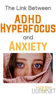 ADHD and Anxiety look a lot alike and hyperfocus can make the subtle differences even more challenging to identify. Most people have no idea that there's even a link between hyperfocus and anxiety! Natural Remedies For Anxiety, Natural Cough Remedies, Natural Cures, Cold Remedies, Natural Health, Homeopathic Remedies, Sleep Remedies, Health Remedies, Natural Skin