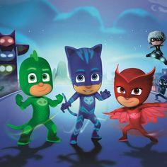 PJ MASKS Edible Image Cake Topper Birthday Personalized 1/4 sheet cup (1/4 sheet cake) ^^ Final call for this special discount  : Baking desserts tools
