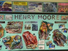 Back To School Art, Art School, Henry Moore Sculptures, Artist Project, Art Classroom, Art Club, Teaching Art, Art Projects, School Projects