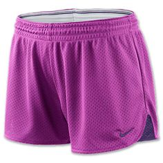 4bb2b5618d32 Nike Hero Women's Mesh Shorts | FinishLine.com | magenta $28 Nike Shorts,  Athletic