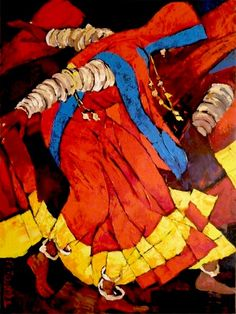 Mithu Basu: Dolna recommends a great way to stART each day. Indian Artwork, Indian Folk Art, Indian Art Paintings, Indian Artist, Diwali Painting, India Painting, Sketch Painting, Figure Painting, Painting Tips