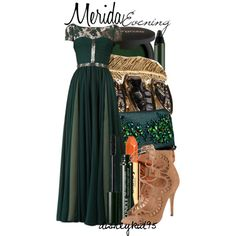 """Merida"" formal gown by disneykid95 on Polyvore - Brave"