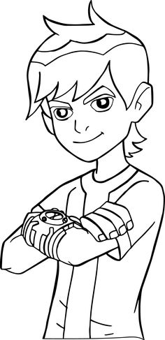 nice Ben 10 Coloring Pages Images Mcoloring