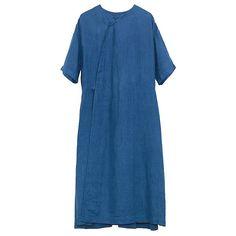 Linen oversized dress