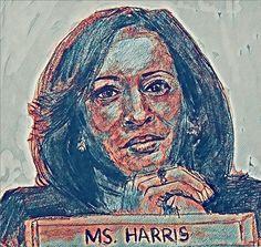 Kamala Harris, Vice President, Wall Art, Wall Decor