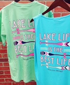 What's your favorite the tank or tee? ☀️ We have them BOTH! Shop now in stores and online --> link in bio. #jadelynnbrooke #lakelife #lake #waterlife #summer16 #shopPD