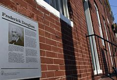 Frederick Douglass�s One Bedroom Rowhouse on Sale in Baltimore