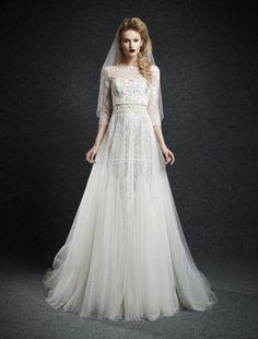 Свадебные платья Ersa Atelier осень-зима 2014-2015
