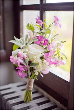 Rosa ramo de flores silvestres