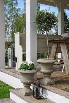 Mooi veranda vloertje