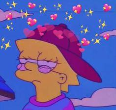Lisa Simpson is a mood Simpson Wallpaper Iphone, Cartoon Wallpaper Iphone, Cute Cartoon Wallpapers, Mood Wallpaper, Aesthetic Iphone Wallpaper, Aesthetic Wallpapers, Aesthetic Gif, Aesthetic Green, Aesthetic Painting