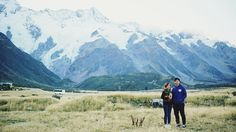 Jay and Angeline's Surprise Proposal at Mighty Mount Cook, New Zealand