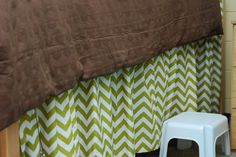 Ole Miss Martin Hall Rooms | removable (with velcro) bedskirt