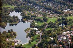 Britzer Garten, Luftaufnahme  Sangerhauserweg 1  Berlin 12349