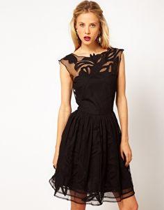 Enlarge ASOS Gothic Prom Dress