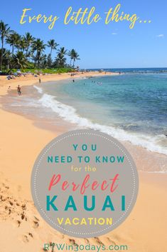 The best things to do in Kauai include waterfalls, canyons, whales, beaches.and one spectacular day trip you absolutely can't miss! Kauai Vacation, Beach Trip, Beach Travel, Kilauea Lighthouse, Poipu Beach, Hanalei Bay, Travel Usa, Luxury Travel, Travel Tips