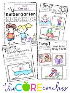 My Kindergarten Memo