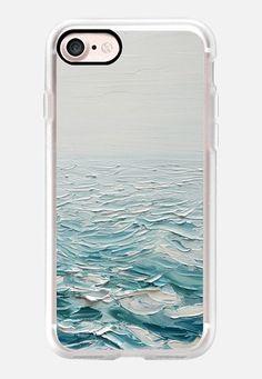 Foggy Seas by Ann Marie Coolick #sea #ocean #iphone7 #phonecase #casetify