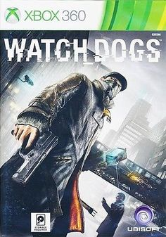 WATCH DOGS XBOX 360 GAME BRAND NEW SEALED UBISOFT