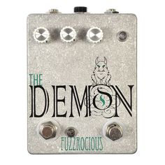Fuzzrocious Demon Overdrive Pedal w/ Gate Boost