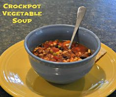 The Intentional Home: Crockpot Vegetable Soup