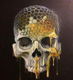 Social Media Art, Minions, Sketch Tattoo Design, Skull Artwork, Skeleton Art, Silhouette Clip Art, Sugar Skull Art, Bee Art, Anatomy Art