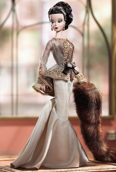 650 Stueck FAO Exclusive Platinum Edition Chataine Silkstone Barbie | eBay
