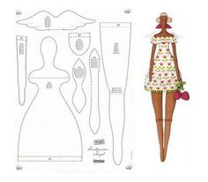 Tila is a you-sew craft doll with lots of personality!