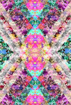 Find images and videos about flowers, wallpaper and background on We Heart It - the app to get lost in what you love. L Wallpaper, Pattern Wallpaper, Wallpaper Backgrounds, Fractal Art, Fractals, Textures Patterns, Print Patterns, Psychedelic Art, Trippy