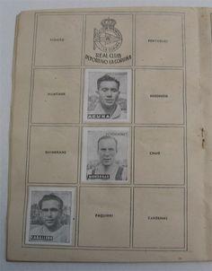 R.C. Deportivo de La Coruña. Cromos Editorial Cisne 1942-43. Liga Española.