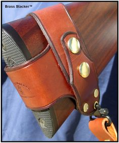 Brass Stacker Rick Lowe No Drill Harnessed Rifle Sling for Rossi Lever Action Rifles