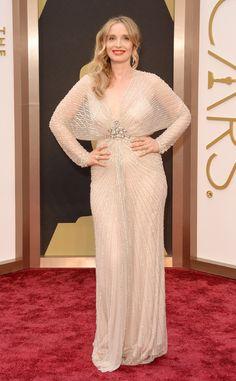 #Oscar | #RedCarpet de los #Oscar2014 - Julie Delpy de Jenny Packham www.beewatcher.es
