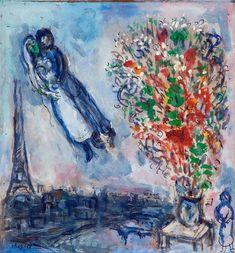 """Paris through My Window"" 1913 Marc Chagall. Marc Chagall, Artist Chagall, Chagall Paintings, Art Aquarelle, Mark Rothko, Henri Matisse, French Artists, Art Plastique, Love Art"