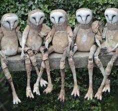 Owl children Mister Finch http://www.mister-finch.com/