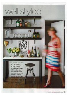 I love how the woman is in motion. I'd like a photo of my in my kitchen this way.